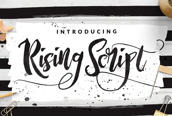 A Grunge Style Script Font By Dirtyline Studio With Imperfections Ideal For Posters Book Covers T Shirt Slogans Logos Invitations And So On