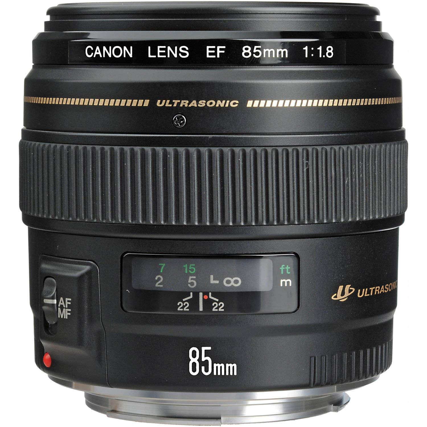 Canon EF 85mm f/1.8 Medium Telephoto Lens