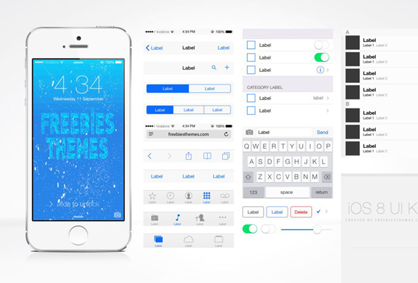 30+ Best Free iOS GUI Mockup Templates for Photoshop \u0026 Sketch