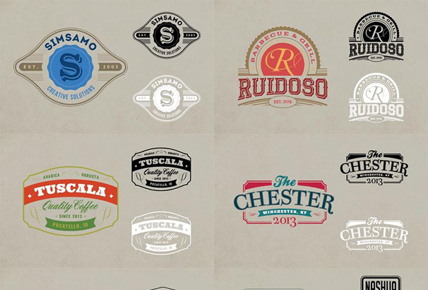 30+ Free Vintage Logo Templates in PSD & EPS Format 2017