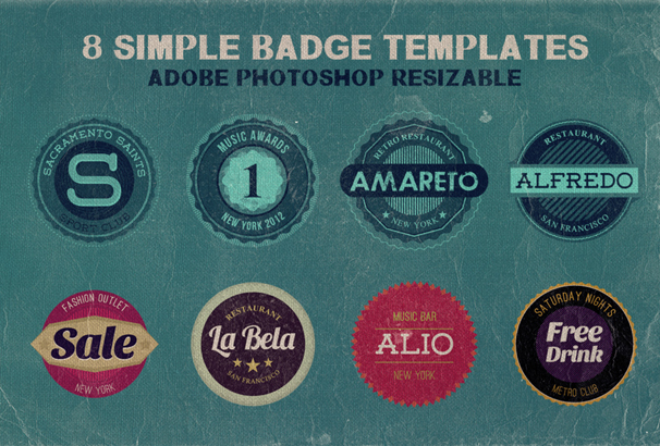 30 free vintage logo templates in psd eps format 2017