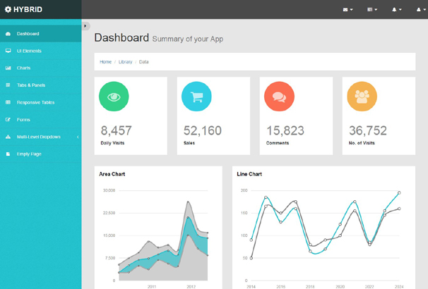 30 Best Free Bootstrap Admin Templates 2018
