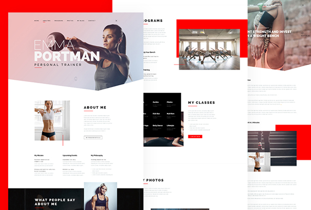 30 best free portfolio website psds to download 2018 its me creative portfolio psd template is specially made for personal uses layers are organized very well with proper naming conventions and you can maxwellsz