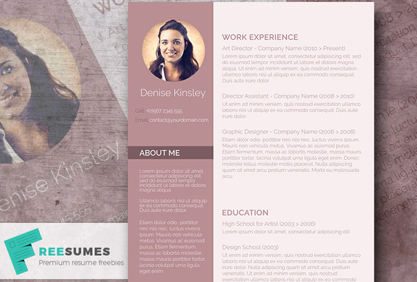 40 free resume templates 2017 professional 100 free more info download yelopaper Choice Image