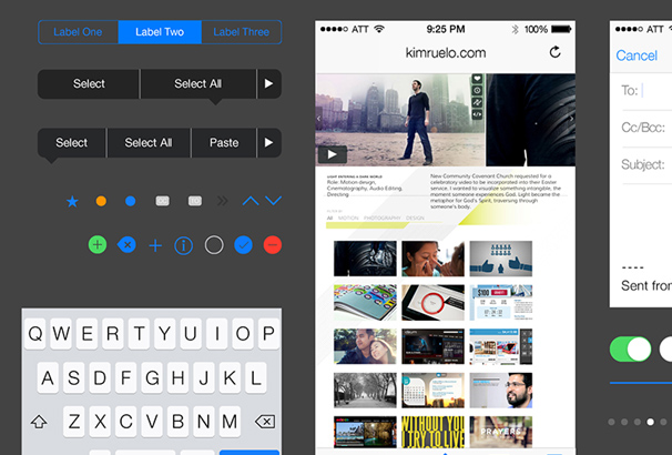 30 best free ios gui mockup templates for photoshop sketch