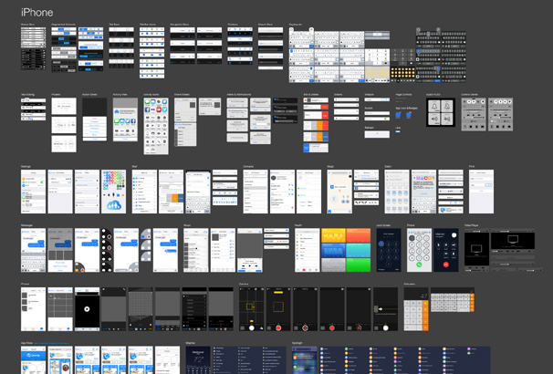 30+ Best Free iOS GUI Mockup Templates for Photoshop & Sketch
