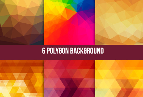 Free Geometric Polygon Backgrounds & Textures 2018