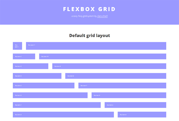 CSS Flexbox Resources: Grid Systems, Frameworks, Tools & Apps