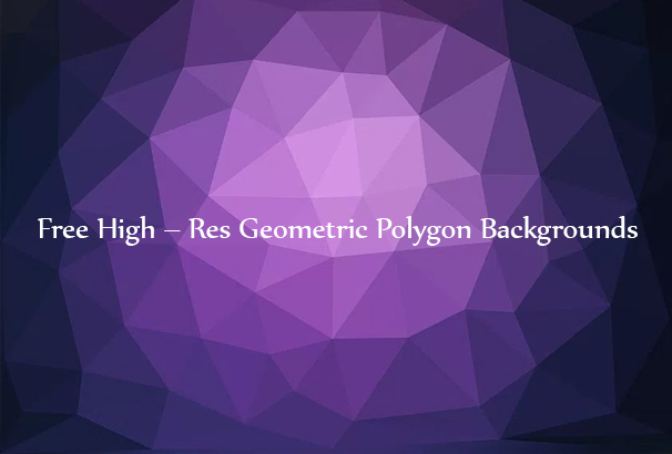 free geometric polygon backgrounds textures 2018