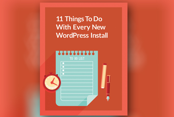 30 free web design development ebooks to download 2017 11 things to do with every new wordpress install pdf this free ebook fandeluxe Choice Image