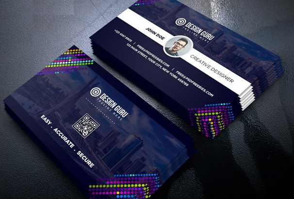 free business card template psds for photoshop 100  free