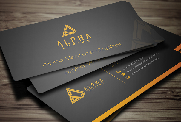 Free Business Card Template PSDs For Photoshop Free Downloads - Template for a business card