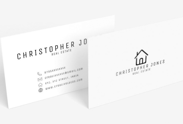 Business Card Template It Will Help You To Boost Up Your Career The Next Level If Are A Real Estate Agent This Is Really Cool
