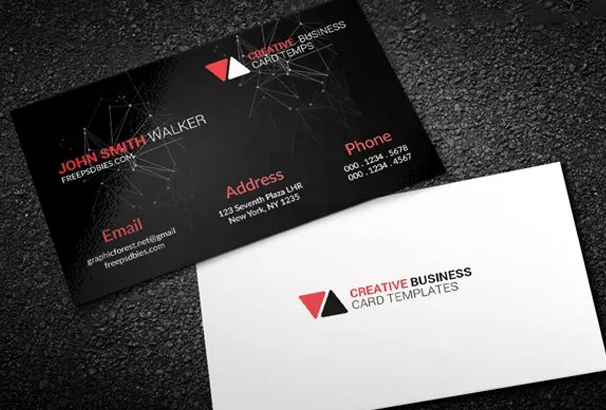 Free business card template psds for photoshop 100 free downloads this template has come up with simple design and it is related to space elements all the informations are available here you just need to download it and fbccfo Images