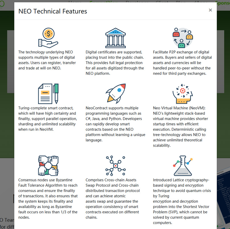 NEO Features