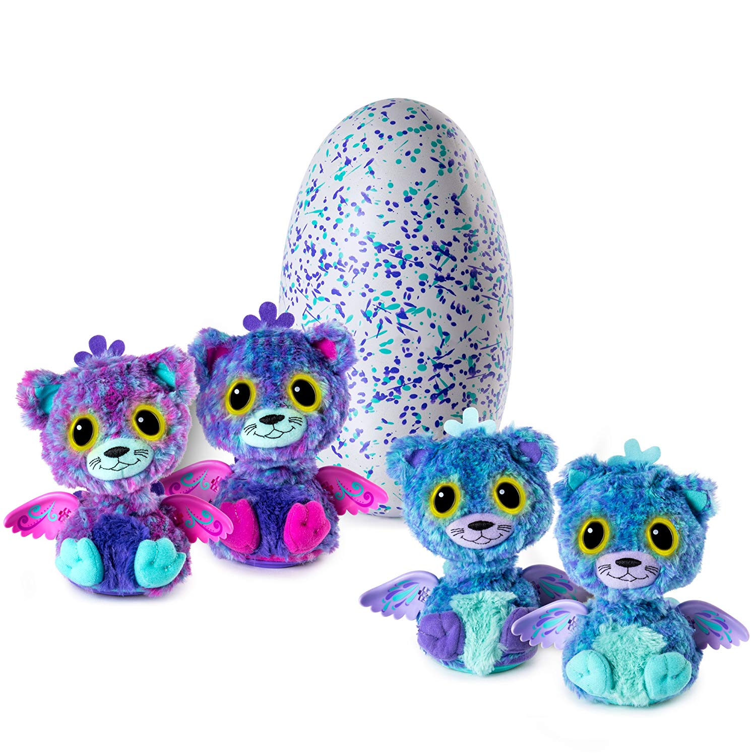Hatchimals Surprise - Peacat - Hatching Egg with Surprise Twin
